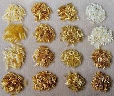 Glass Tube Gold Jewellery Making Beads