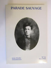 Parade Sauvage n°16   mai  2000     208  pages      Rimbaud