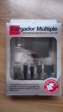 Cargador múltiple Nintendo DS, Lite, DSi, DSi XL, Sony PSP Street y USB NUEVO