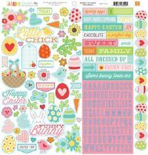 """Echo Park Happy Easter """"Stcker Sheet"""" 12x12"""