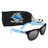 NRL Sunglasses & Case Set - Cronulla Sharks - Rugby League
