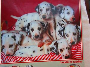 """Ceaco, """"Huddle of Cuddles"""", 550 pc Dalmations puzzle,  FACTORY SEALED"""