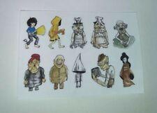 10 Little Nightmares stickers set horror game anime ps4 xbox sticker Halloween