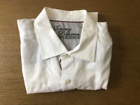 Tommy Bahama Denim Men's Size M White Shirt Long Sleeve Button Front