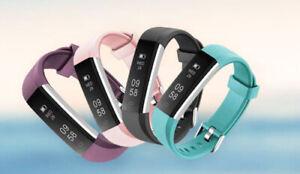 Men Women Fitness Tracker Waterproof Activity with Pedometer Step Counter Watch