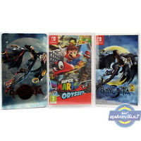 10 x Switch Game Box Steelbook Protectors for Nintendo 0.4m Plastic Display Case