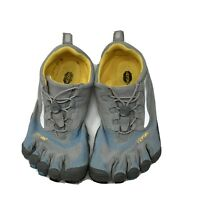 Vibram Five Fingers W356 Barefoot Shoes Toggle Tie Light Gray & Blue  Genuine