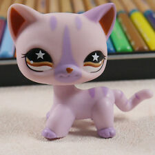 Pink Short Hair Cat kitty #933 LITTLEST PET SHOP  LPS mini Action Figure