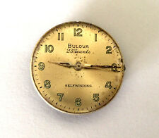 Vintage Bulova 10Bzac Usa Movement Dial 23 Jewels Selfwinding Parts Repair Only