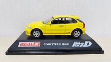 1/72 Real-X Initial D HONDA CIVIC TYPE R (EK9) diecast car model MINT