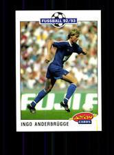 Ingo Anderbrügge FC Schalke 04  Panini Action Card 1992-93 + A 183112