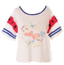 tp-127-1 Blanco Nube Dino Cat camiseta pastel goth DULCE LOLITA Japón Harajuku