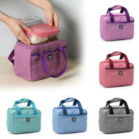Insulated Waterproof Oxford Picnic Pouch Lunch Bag Food Storage Lunch Box