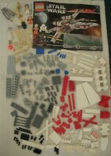 Star Wars Lego 6212 X Wing Starfighter 99% Complete All Minifigures Manual