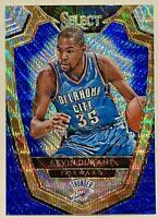 KEVIN DURANT 2014-15 Panini Select Premier Blue and Silver Prizm MINT HOT🔥