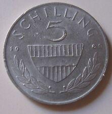 5 Scellini Austriaci Silver 1969-  n. 1105