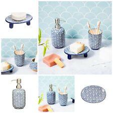 Ceramic Soap Dispenser - Soap Dish - Toothbrush Holder - Bathroom Accesories