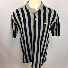 Minty Vintage 90s Timberland Hip Hop Stripe Polo Shirt Color Block Grunge L