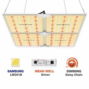 Spider Farmer SF4000 LED Grow Light With Dimmer Knob 2021 New Version QB