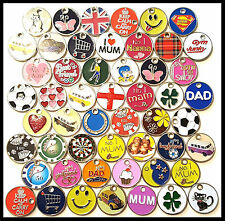 PACK OF 12 RANDOM SHOPPING TROLLEY TOKEN COIN KEY RINGS WITH LOBSTER CLASPS