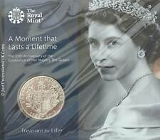 2018 Royal Mint Coronation Of Her Majesty The Queen £5 Five Pound Coin Pack