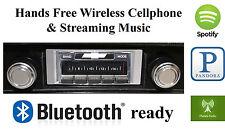 69-72 El Camino AM FM Bluetooth New Stereo Radio iPod USB, Aux inputs, 300 watts