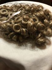 Doll Wig Curly Blond New Without Tag