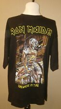 Iron Maiden Somewhere In Time Tour Concert T-shirt Sz L?