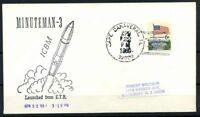 Stati Uniti 1969 Mi. 638 Busta 100% Minuteman III