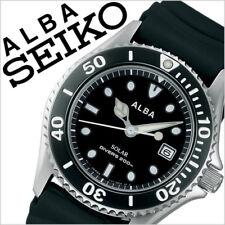 Seiko Alba Aqua Gear AEFD530 Solar 200m Divers Men's Watch From Japan