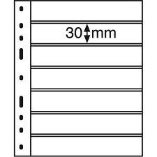 OPTIMA pochettes plastiques 7 compartiments, noir - Réf 323995