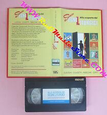 VHS film ALLA SCOPERTA DEI SEGNI LITURGICI Luoghi oggetti persone (F145) no dvd