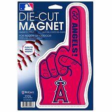 """LA ANGELS of ANAHIEM #1 Fan Finger Logo Magnet, Die Cut @ 9"""" X 5""""--FREE Shipping"""