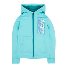 9bc515a9f061 Girls Nike Therma Fleece ZIPPER Hoodie Sweatshirt Size 5 (4-5 Yrs) Light