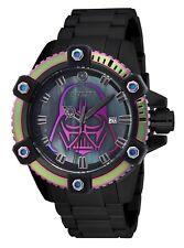 Invicta Men's 26558 Star Wars Automatic 3 Hand Black Iridescent Dial Watch