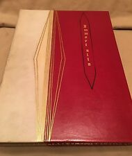Fine Full Leather Art Beco Binding IMMORTALIA - 1927 - Limited Edition