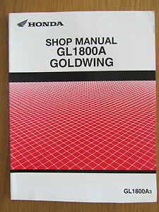 HONDA GL1800A 3 DEALER ONLY SHOP MANUAL NEVER AVAILABLE TO THE GENERAL PUBLIC