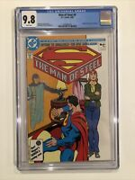 Man Of Steel #6 CGC 9.8 John Byrne SUPERMAN 1986
