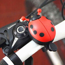 Lovely Kid Beetle Ladybug Ring Bell for Cycling Bicycle Bike Ride Horn Alarm 1 x