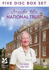 INSIDE THE NATIONAL TRUST - 5 DVD BOX SET - WITH MICHAEL BUERK, CRAGSIDE & MORE