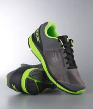 42.5 / 9 - Scarpe Uomo Fox Racing Podium Grigio Grey Green Shoes Sneakers Schuhe