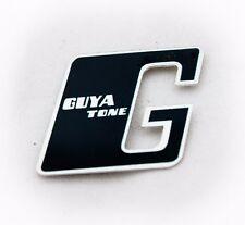 """Guyatone """" Beispiel cm Authentisch Ersatz Spindelstock Abzeichen / Logo - Neu -"""