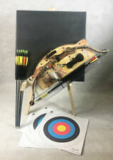 ASD Hawk Kids Compound Archery Bow and Arrow Starter Pack With Target ** Camo **
