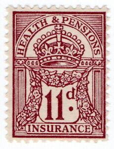 (I.B) George V Revenue : Health & Pensions Insurance 11d