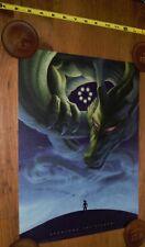 "Goku & Shenlong the Eternal Artwork 12x18"" (Shenron)"