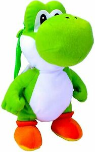 Mario Brothers- YOSHI BACKPACK LARGE Plush Nintendo cuddle pillow dinosaur NEW