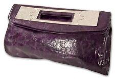 Handtasche - Clutch - lila - Tasche - Reißverschluss - Magnet - Innenfach