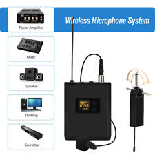 Wireless Portable Rechargeable Microphone System Receiver For Conference Teacher