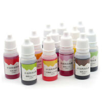 10ml UV Resin Liquid Coloring Dye Pigment Epoxy for DIY Jewelry Making Crafts