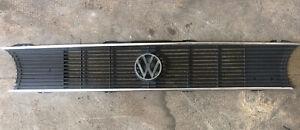Volkswagen MK1 Rabbit Cabriolet Cabrio OEM Front Grille Center